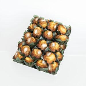 Caja de magdalenas con aceite de oliva virgen extra 1,9 Kg