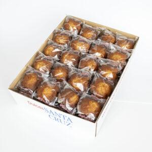 Caja magdalenas integrales Sin azúcar 2,5 Kg.